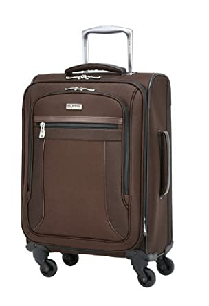 Ricardo Beverly Hills Luggage Montecito Micro Light 20 Inch 4 Wheel Expandable Wheelaboard, French Roast, One Size