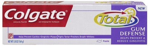 Colgate Total Total Gum Defense Toothpaste, 5.8 Ounce (Pack Of 2) front-945813