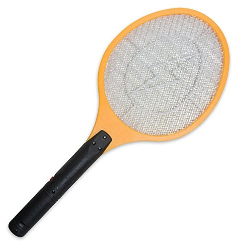 Se Battery Operated Tennis Racket Shaped Bug Zapper