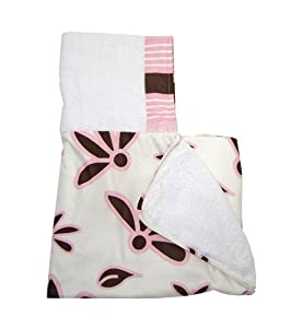 Babylicious Boutique 'Pink Cocoa' Hooded Bath Towel