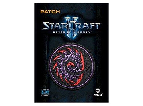 "StarCraft II Zerg Symbol Patch MultiColor 3"" Circle"