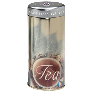 Stash Logo Tea Tin