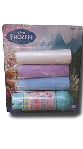 Disney Frozen Sidewalk Chalk with Holder 4 Pc Outdoor Art
