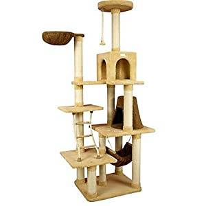 armarkat premium 70 inch cat tower with