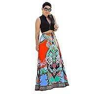 Franterd Women Beach Skirt Casual Tra…