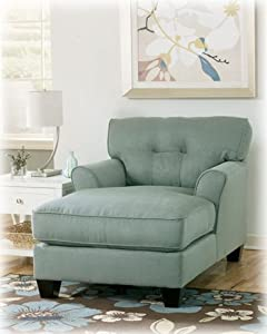 Contemporary lagoon kylee living room chaise for Ashley kylee chaise lounge
