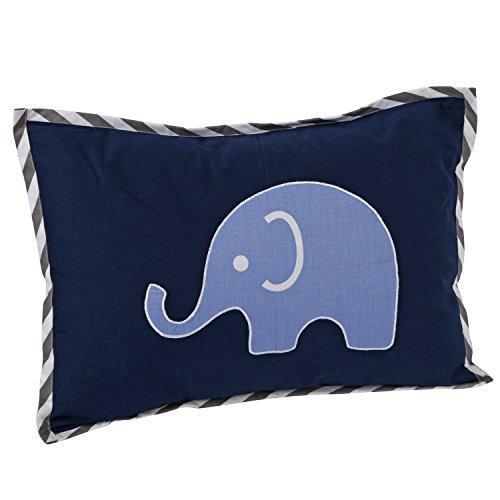 Blue Elephant Bedding front-618642