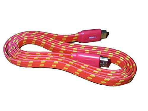 deet-r-tm3247-1-m-hdmi-auf-hdmi-pro-rot-geflochtenes-kabel-vergoldete-kontakte-schnell-version-14-hi
