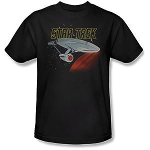 Star Trek The Animated Series Retro USS Enterprise Cartoon T-Shirt Tee