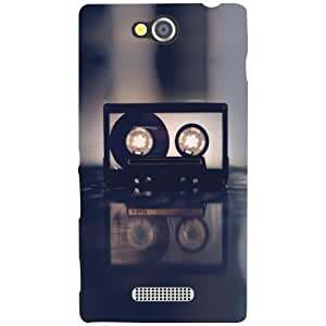 Sony Xperia C Back Cover - Learn Designer Cases