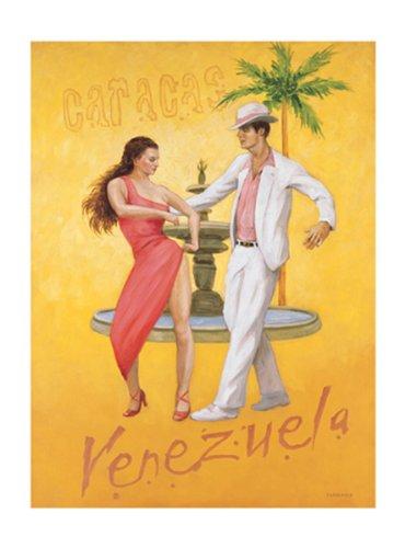 caracus-venezuela-by-david-marrocco-5-x-7-poster