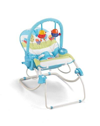 Fisher-Price modelo P6946 hamaca bebe automatica pajaritos - 8