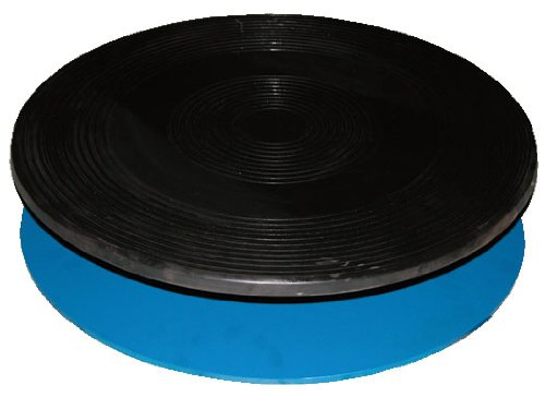 "Vestil TT-18-7/8 Heavy Duty Manual Turntable, 1000 lbs Capacity, 7/8"" Height, 18"" Diameter"