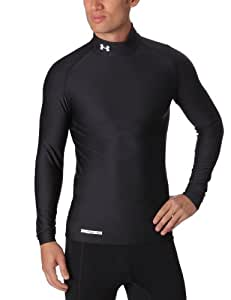 Under Armour ColdGear Compression Evo Mock Men's Longsleeve - Black, S