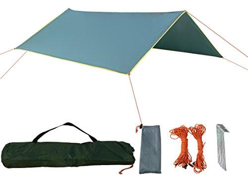 zoophyter-3-x-3-m-versatile-camping-tent-tarp-shelter-hammock-rain-fly-with-guy-line-stake-kit