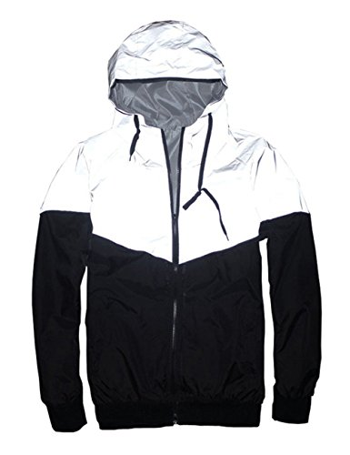 Mens-Outerwear-3M-Reflective-Running-Jacket