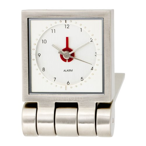 Android Time Square Silver Dial Clock