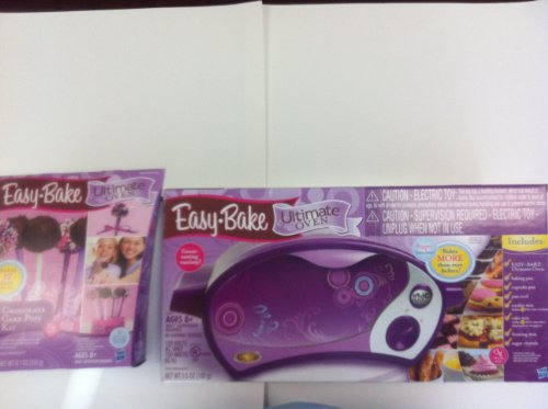 Ultimate Easy Bake Oven With Chocolate Cake Pops Kit