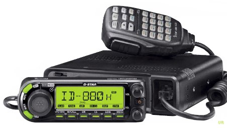 Lowest Prices! Icom ID-880H 144/440 MHz Dual-Band Amateur Radio D-Star Mobile Transceiver