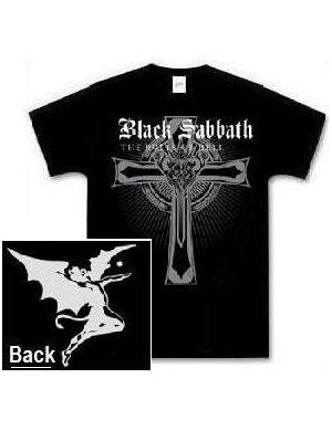Black Sabbath 'Rules Of Hell' / Demon 2-sided t-shirt (Large)