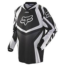 2013 Fox HC Race Motocross Jerseys - Black - Small