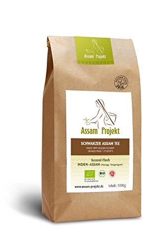Schwarzer Bio Assam Tee 1000g FTGFOP 1 DE-ÖKO-005