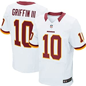 NFL Washington Redskins Robert Griffin III RG3 Youth White Jersey by OuterStuff