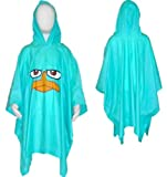 Phineas & Ferb Agent P Youth One Size Hooded Rain Poncho