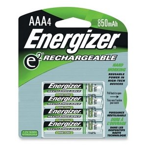 Energizer AAA NIMh Rechargeable Batteries 4 Pack - NH12BP4