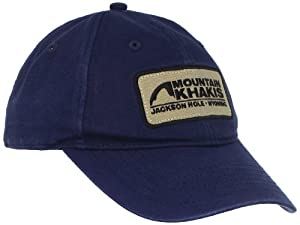 Mountain Khakis MK Soul Patch Cap (Indigo, One Size)