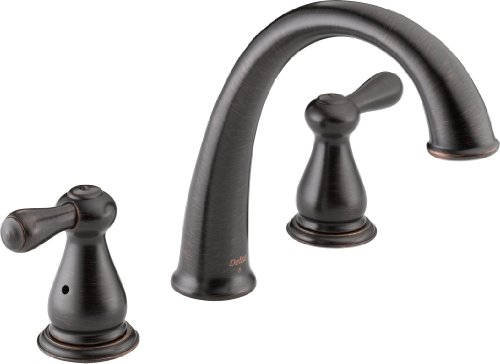 Delta T2775-RB Leland Roman Tub Trim, Venetian Bronze (Delta Roman Tub Faucets compare prices)
