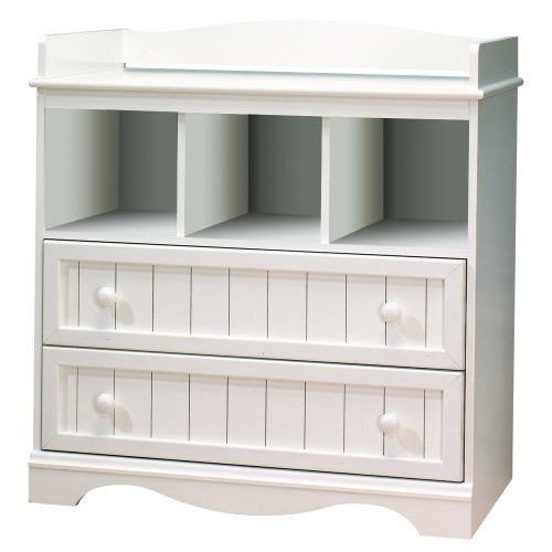Why Choose The South Shore Savannah Collection Changing Table, Pure White