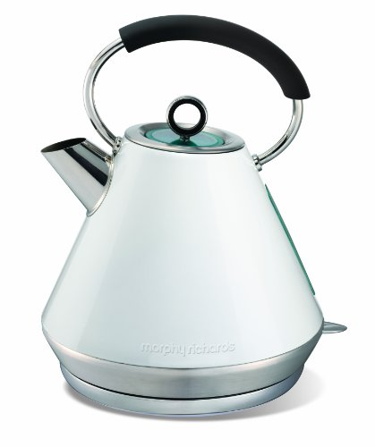 Morphy Richards Elipta 43951 Pyramid Kettle, White