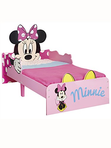 Minnie Mouse SnuggleTime Toddler Bed + Matelas Deluxe