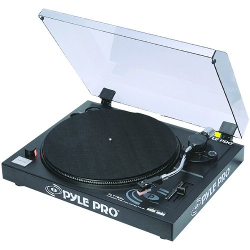 Pyle Pro Plttb3U Direct Drive Usb Turntable - Professional Audio/Video