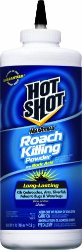 Hot Shot 2080 MaxAttrax Roach Killer, 16-Ounce Powder