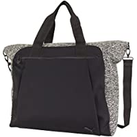 PUMA Women's Lifestyle Yoga Duffel Bag (Black / Gray)