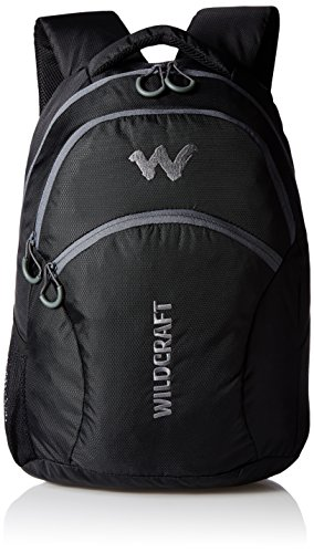 Wildcraft-Polyester-21-liters-Black-Kids-Bag-5-8-years-age