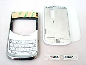 Original White Housing Cover Door Case Frame Fascia Plate for Blackberry Torch 9800 and Mobile Phone Repair Parts Replacement