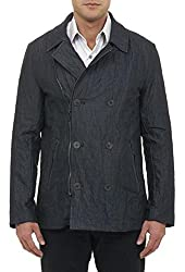 Robert Graham Mens Woodlawn Tailored Fit Double-Breasted Jacket