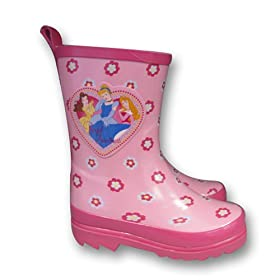 Disney Princess Girl's Pink Kid's Rain Boots