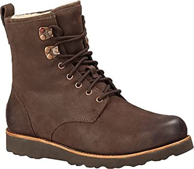 UGG Men's Hannen Stout Leather Boot 18 D (M)
