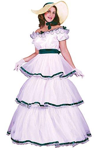[Mememall Fashion Classic Southern Belle Dress Women Adult Costume] (Southern Belle Costumes Adult)