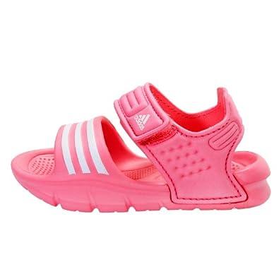 Adidas (Gp) Crib Akwah 8 I Slippers, Pink, 3 M Us