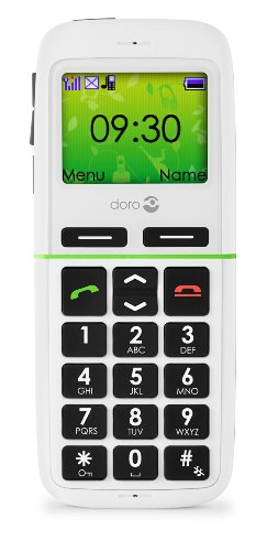 Doro  345GSM WH Easy to Use Sim Free Mobile Phone - White