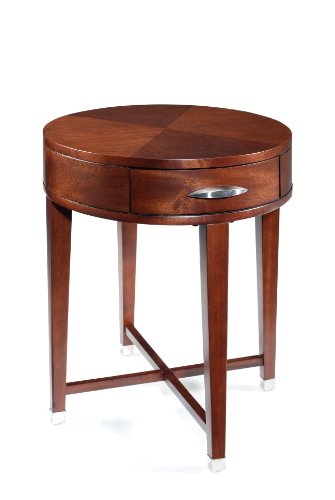 Cheap Magnussen Orion Wood Oval End Table (T1518-07)