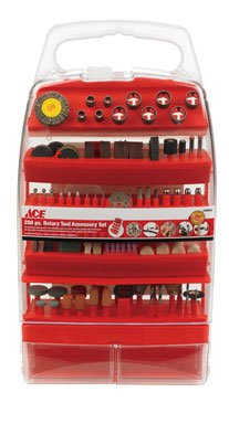 Ace Trading-great Star Aced0007 Rotary Tool Accessory Set 200pc.