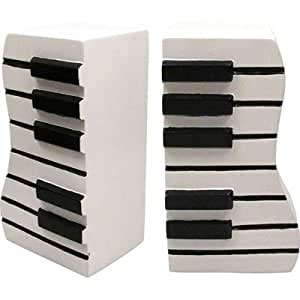 Music Keyboard Piano Wavy Bookend Toys Games