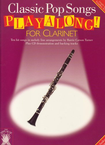 Applause: Classic Pop Songs Playalong for Clarinet