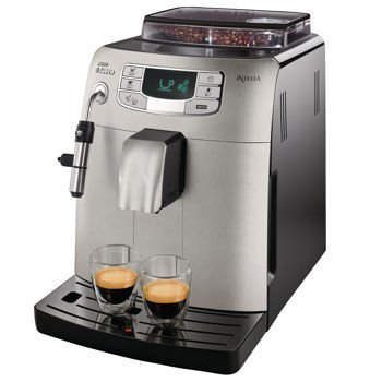 Find Bargain Philips Saeco Intelia Super-automatic espresso machine HD8752/87 (Certified Refurbished...